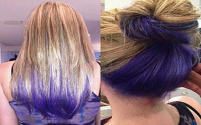 tinte violeta con oxigenada de 20 volumenes